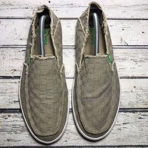 Sanuk Slip-on Shoes Size 10